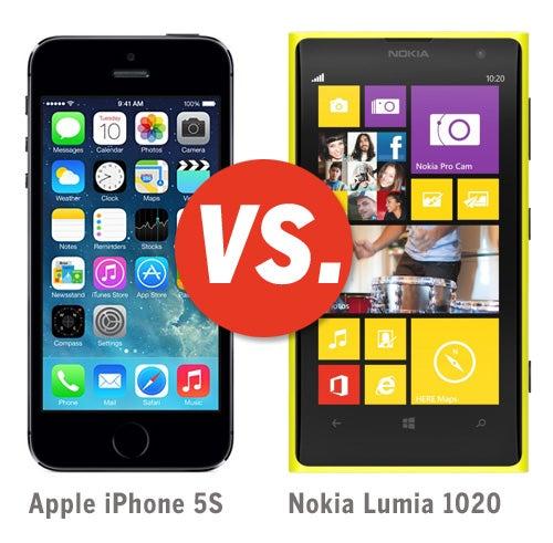 Iphone 5s vs.Nokia