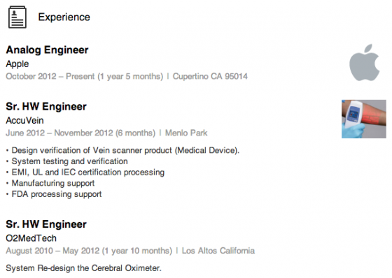 Apple S Hiring Spree Of Biosensor Experts Continues Network World