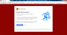 Google Chrome issues warnings while blocking ESPN.com and major websites