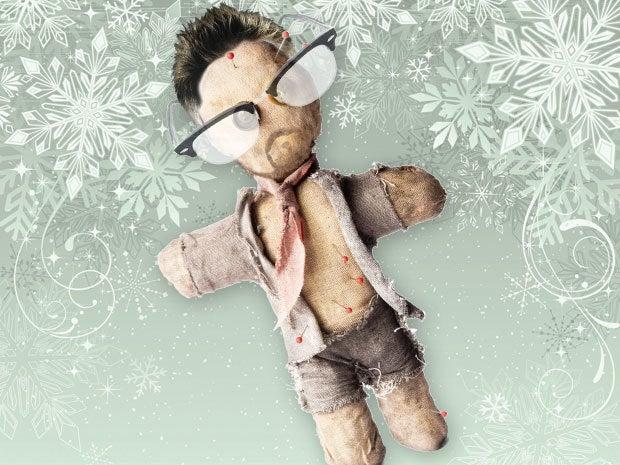 Edward Snowden Voodoo Doll