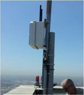 Cobham wireless mesh node