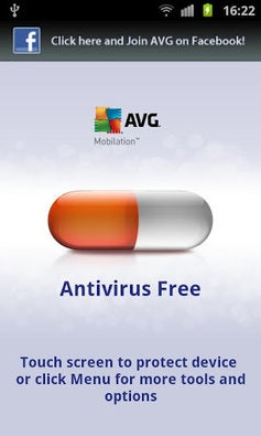 AVG Mobilation Antivirus app screenshot