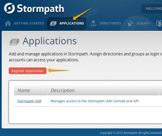 Stormpath website