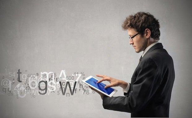 tablets data businessman stream user mobile