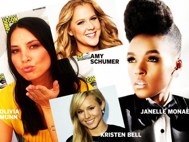Fresh stars Olivia Munn, Janelle Monae & more