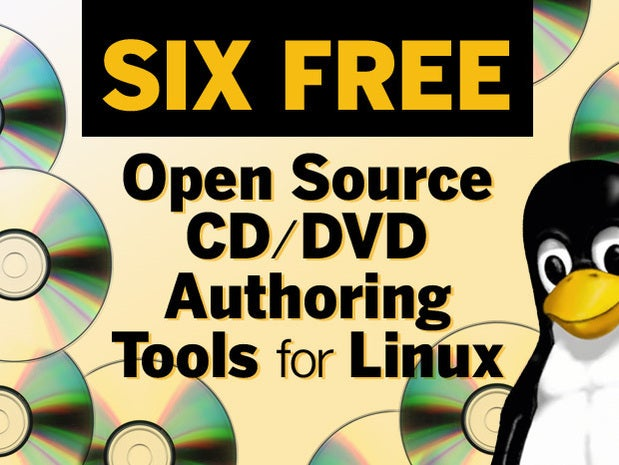 Six free open source CD and or DVD authoring tools for Linux