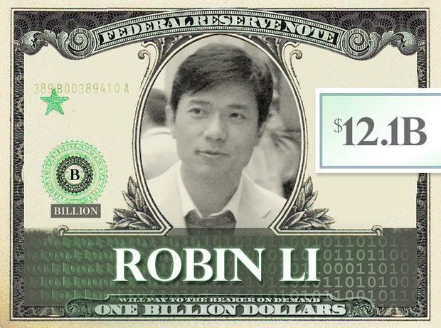 Robin Li, $12.1B