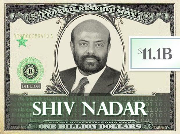 Shiv Nadar, $11.1B