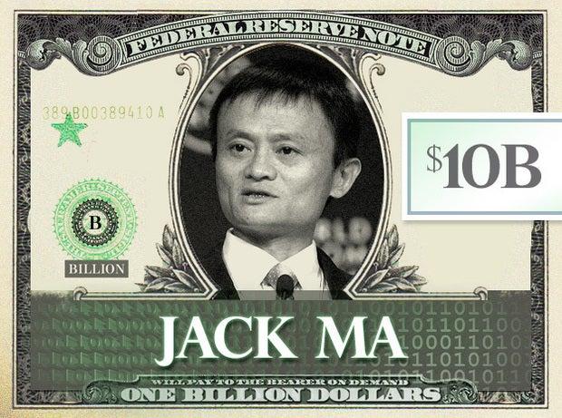 Jack Ma, $10B