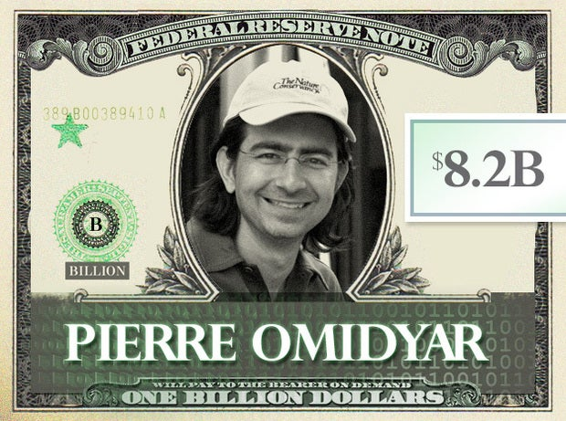 Pierre Omidyar, $8.2B