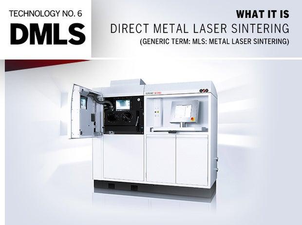 Technology No. 6: DMLS