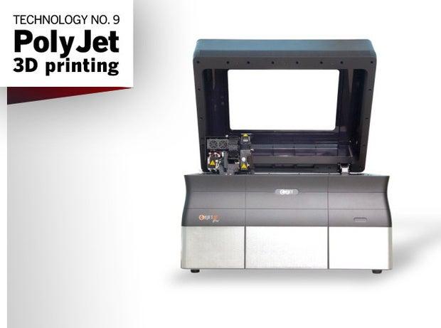 Technology No. 9: PolyJet 3D printing