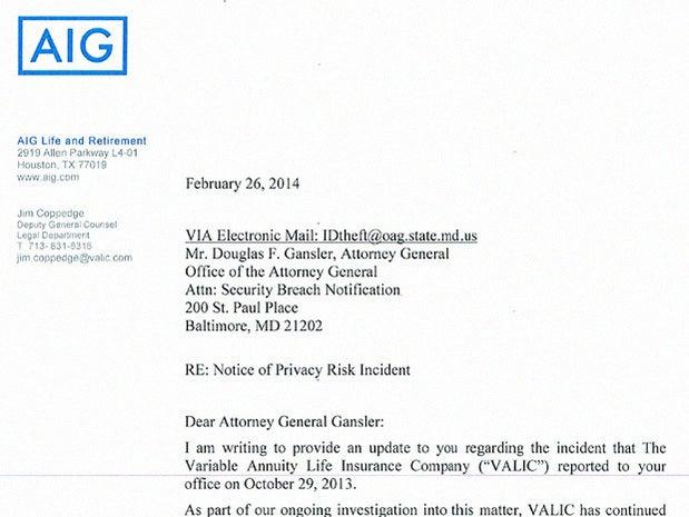 AIG's Variable Annuity Life Insurance Company