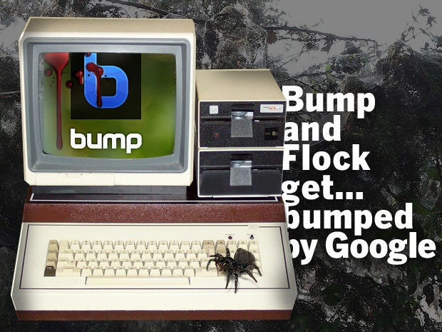 Bump and Flock get… bumped by Google