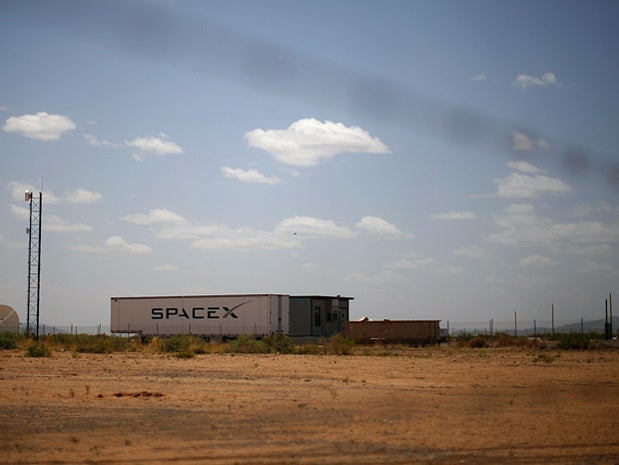 Space X shipping container