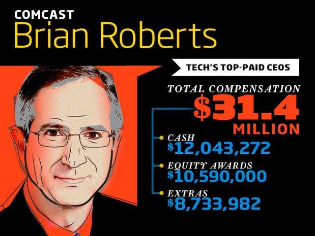 Comcast chief executive Brian Roberts