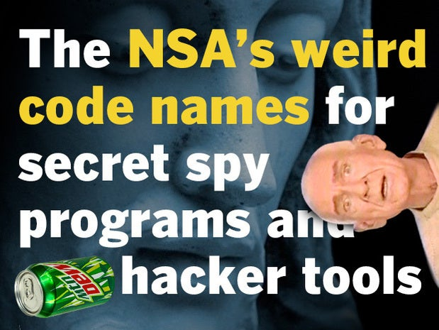 NSA hacking tool code names