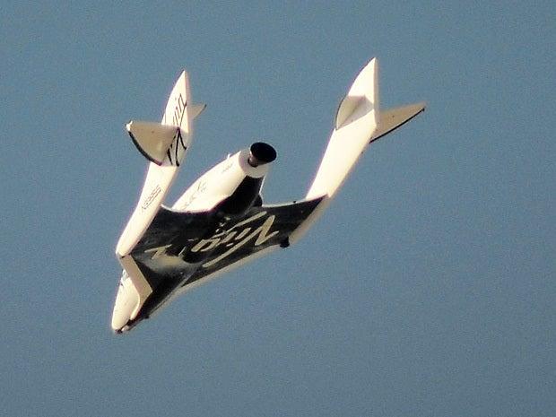 Virgin Galactic\'s SpaceShipTwo