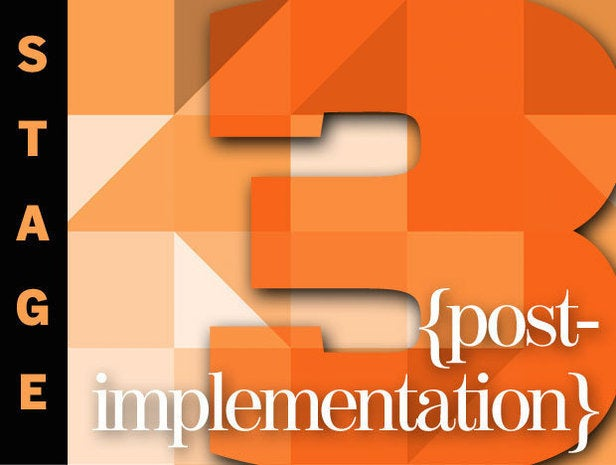 Stage 3: Post-Implementation of Your Big Data Project