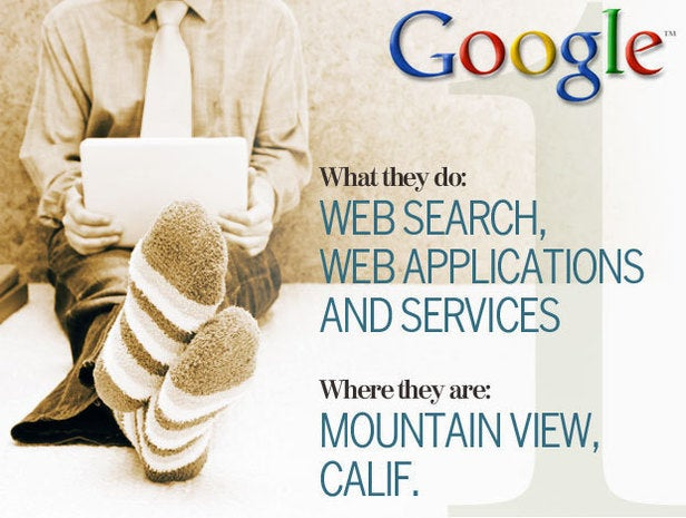 Google, telecommuting