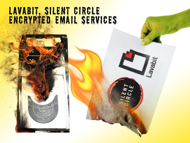 Lavabit, Silent Circle encrypted email services