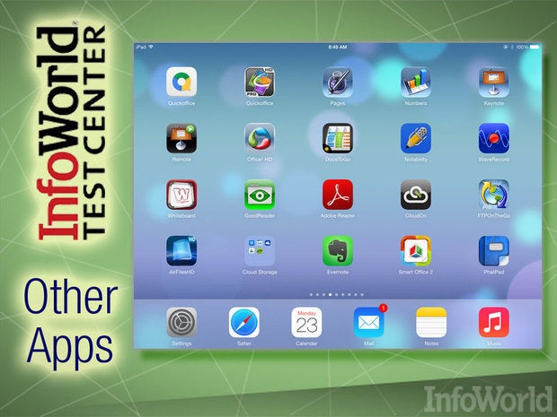 iPad productivity apps