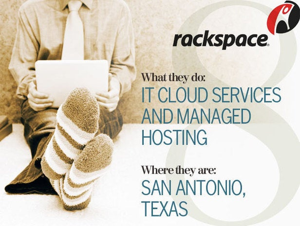 Rackspace, telecommuting