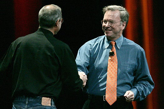 Google\'s Eric Schmidt