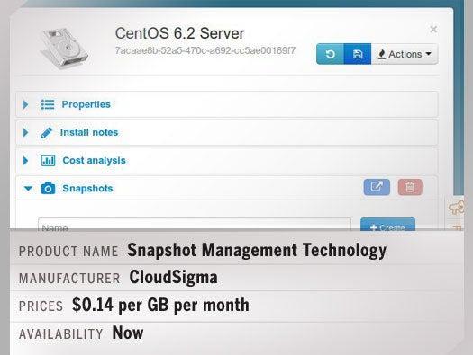 Snapshot Management Technology