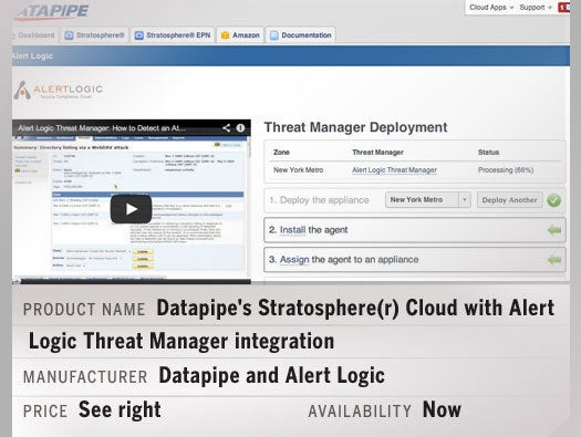 Datapipe's Stratosphere(r) Cloud