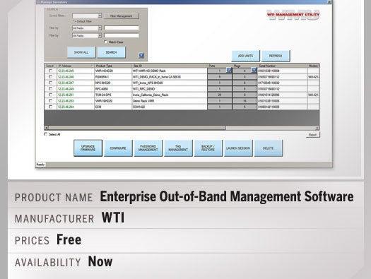 Enterprise Out-of-Band Management Software