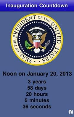 Obama Inauguration Countdown