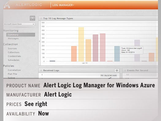 Alert Logic Log Manager for Windows Azure