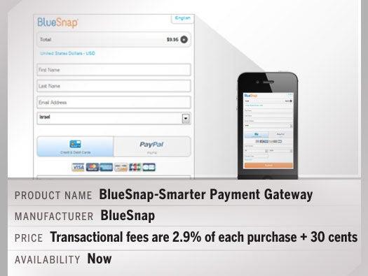 BlueSnap-Smarter Payment Gateway
