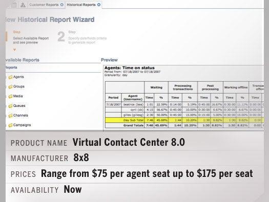 Virtual Contact Center 8.0 i