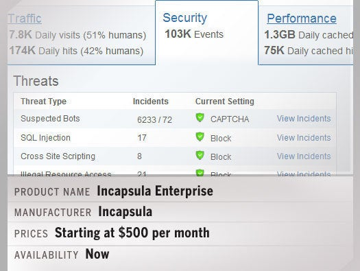 Incapsula Enterprise Plan