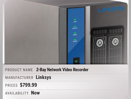 Linksys 2-Bay Network Video Recorder – LNR0208C