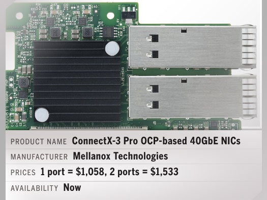 ConnectX-3 Pro 40GbE OCP-based NICs