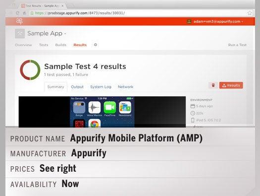 Appurify Mobile Platform