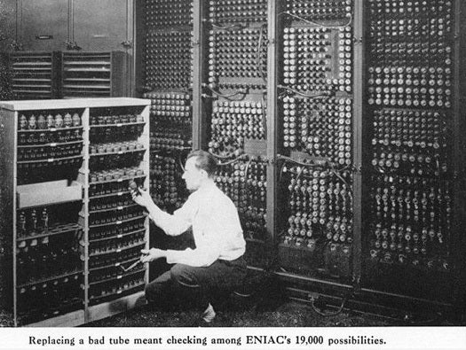 The First Digital Picture.Eniac World S First Digital Computer Turns 66 Network World
