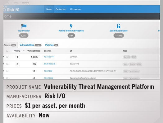 Vulnerability Threat Management Platform