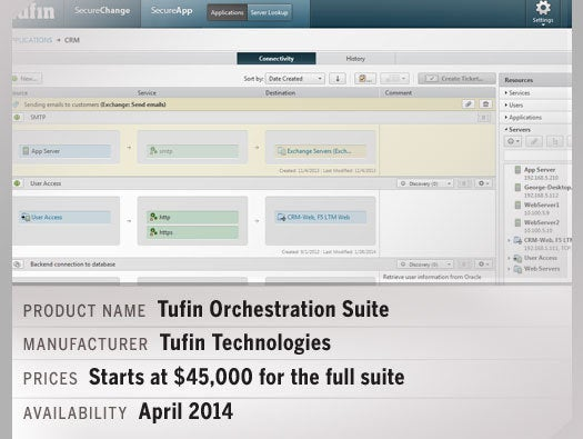 the Tufin Orchestration Suite