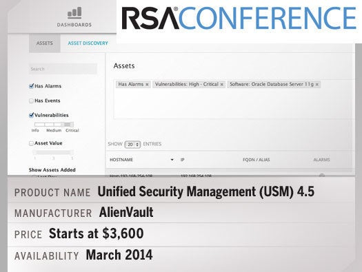 Unified Security Management (USM) 4.5