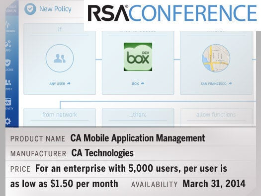 CA Mobile Application Management