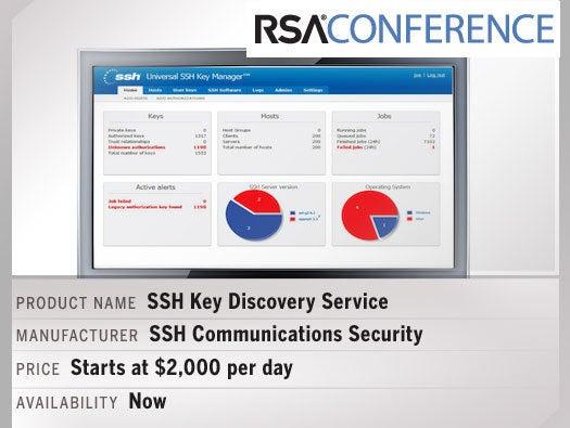 SSH Key Discovery Service