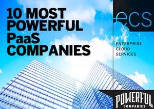 10 most powerful PaaS companies