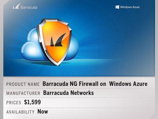 Barracuda NG Firewall on  Windows Azure