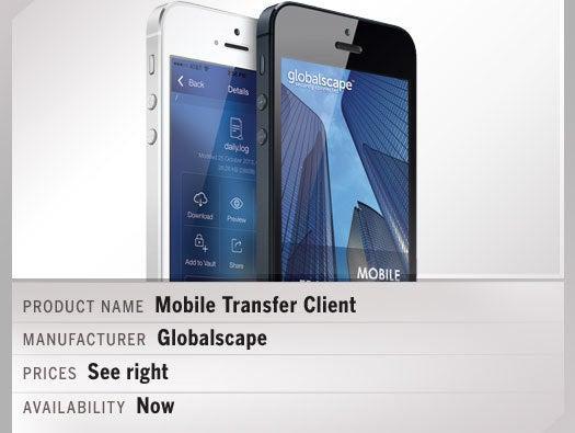 Mobile Transfer Client