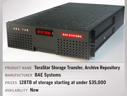 BAE Systems TeraStar™ data storage system