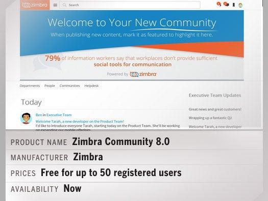 Zimbra Community 8.0